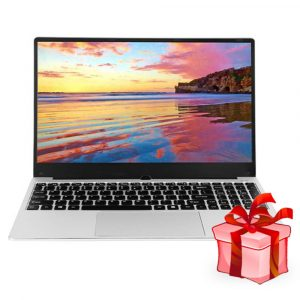VORKE Notebook 15 Laptop 8GB RAM 256GB ROM Silver