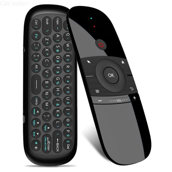 Wechip W1 Mini 2.4G Wireless Keyboard With Air Mouse For Android TV Box / Mini Pc / TV / Win 10