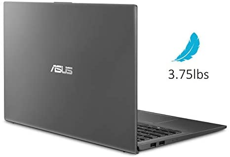 "ASUS VivoBook 15 Thin and Light Laptop- 15.6"" Full HD, Intel i5-1035G1 CPU, 8GB RAM, 512GB SSD, Backlit KeyBoard, Fingerprint, Windows 10- F512JA-AS54, Slate Gray 3"