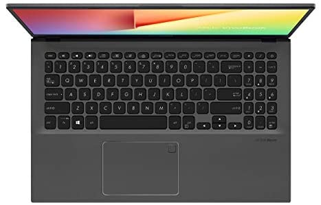 "ASUS VivoBook 15 Thin and Light Laptop- 15.6"" Full HD, Intel i5-1035G1 CPU, 8GB RAM, 512GB SSD, Backlit KeyBoard, Fingerprint, Windows 10- F512JA-AS54, Slate Gray 4"