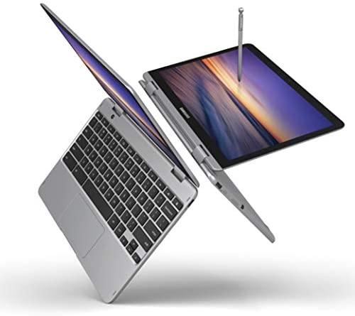 "Samsung Chromebook Plus V2 2-in-1 Laptop- 4GB RAM, 64GB eMMC, 13MP Camera, Chrome OS, 12.2"", 16:10 Aspect Ratio- XE520QAB-K03US Light Titan 2"