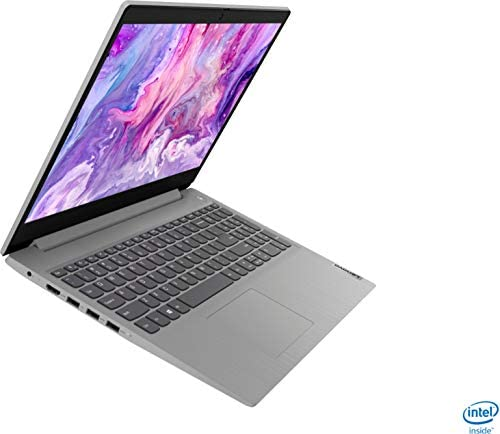 "2021 Newest Lenovo IdeaPad 3 15.6"" HD Touch Screen Laptop, Intel Quad-Core i5-1035G1 Up to 3.6GHz (Beats i7-8550U), 12GB DDR4 RAM, 256GB PCI-e SSD, Webcam, WiFi 5, HDMI, Windows 10 S + Oydisen Cloth 2"