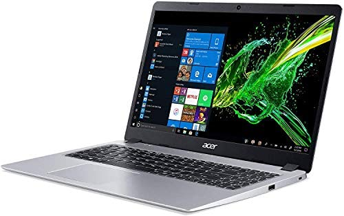 2021 Newest Acer Aspire 5 Slim Laptop, 15.6 inches Full HD IPS Display, AMD Ryzen 3 3200U, Vega 3 Graphics, 8GB DDR4, 256GB SSD, Backlit Keyboard, Windows 10 in S Mode + Oydisen Cloth 3