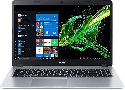 2021 Newest Acer Aspire 5 Slim Laptop, 15.6 inches Full HD IPS Display, AMD Ryzen 3 3200U, Vega 3 Graphics, 8GB DDR4, 256GB SSD, Backlit Keyboard, Windows 10 in S Mode + Oydisen Cloth 2