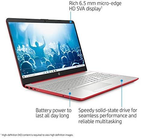 Newest HP Pavilion Intel Pentium Silver N5000 4GB 128GB SSD Windows 10 Laptop Red 2