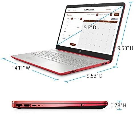 Newest HP Pavilion Intel Pentium Silver N5000 4GB 128GB SSD Windows 10 Laptop Red 6