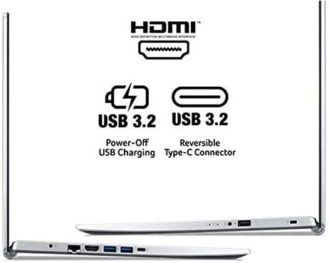 "Acer Aspire 5 A517-52-713G, 17.3"" Full HD IPS Display, 11th Gen Intel Core i7-1165G7, Intel Iris Xe Graphics, 16GB DDR4, 512GB NVMe SSD, WiFi 6, Fingerprint Reader, Backlit Keyboard 5"
