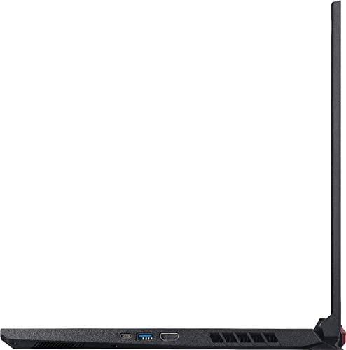 "Acer Nitro 5 17.3"" FHD Gaming Laptop Intel Core i5-10300H, NVIDIA GeForce GTX 1650 Ti,8GB DDR4 RAM, 512GB PCIE SSD, Backlit Keyboard, Woov Laptop Bag, Windows 10 Home Obsidian Black 7"