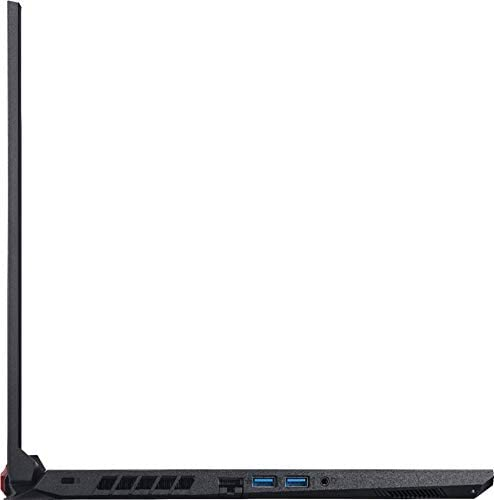"Acer Nitro 5 17.3"" FHD Gaming Laptop Intel Core i5-10300H, NVIDIA GeForce GTX 1650 Ti,8GB DDR4 RAM, 512GB PCIE SSD, Backlit Keyboard, Woov Laptop Bag, Windows 10 Home Obsidian Black 9"