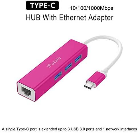 "ASUS VivoBook 15 15.6"" FHD Touchscreen Laptop Computer, Intel Core i3 1005G1 Up to 3.4GHz, 8GB DDR4 RAM, 128GB SSD, AC WiFi, Fingerprint Reader, Windows 10 S, iPuzzle Type-C HUB 2"