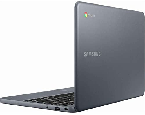 "Samsung 11.6"" HD (1366 X 768) Energy-Efficient LED Backlight Chromebook   Intel Celeron Processor N3060   4GB Memory   32GB EMMC Flash Memory   MicroSD Card   Wireless-AC   Chrome OS   Night Charcoal 5"
