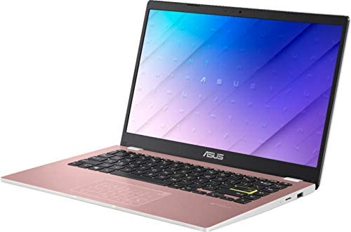 """2021 Newest ASUS 14"""" Thin Light Student Laptop, Intel Celeron N4020 (up to 2.8GHz), 4GB DDR4 RAM, 128GB eMMC, 12Hours Battery Life, Webcam, Zoom Meeting, Win10, Pink w/GM Accessories 4"""