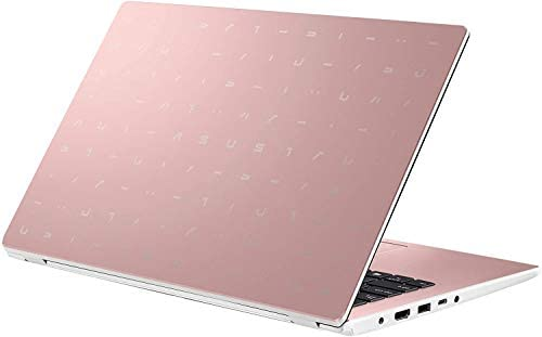 """2021 Newest ASUS 14"""" Thin Light Student Laptop, Intel Celeron N4020 (up to 2.8GHz), 4GB DDR4 RAM, 128GB eMMC, 12Hours Battery Life, Webcam, Zoom Meeting, Win10, Pink w/GM Accessories 6"""