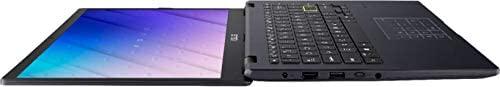 "ASUS E410 14.0"" HD (1366x768) LED Anti-Glare Laptop, Intel Celeron N4020, 4GB DDR4, 128GB eMMC, WiFi, HDMI, NumberPad, Media Card Reader, USB Type-C, Windows 10 S, Blue, 64GB ABYS MicroSD Card 8"
