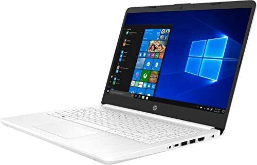"2021 HP 14"" HD Slim and Light Laptop, Intel Celeron N4020 Processor, 4GB RAM, 64GB eMMC, Webcam, HDMI, Windows 10 S, 1 Year Microsoft 365 /IFT Accessories (Google Classroom or Zoom Compatible) White 4"