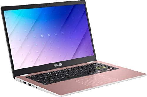 "2021 Flagship Asus Vivobook E410MA Thin and Light Laptop 14"" HD Display Intel Celeron N4020 4GB RAM 128GB eMMC Storage Intel HD Graphics 600 USB-C WiFi Office 365 Win10 (Pink)+ iCarp HDMI Cable 3"