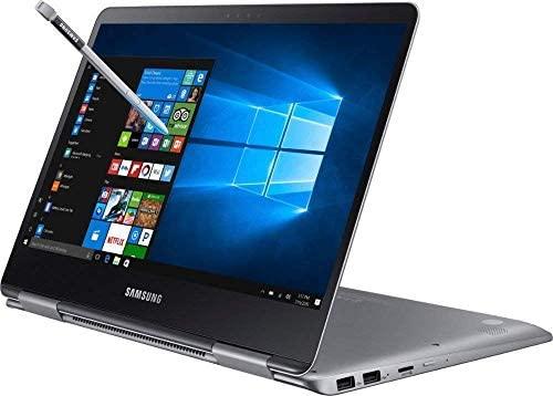 "Premium 2019 Samsung Notebook 9 Pro Business 15.6"" FHD 2-in-1 Touchscreen Laptop/Tablet Intel Quad-Core i7-8550U, 16GB DDR4, 512GB SSD, 2G Radeon 540 Backlit KB USB-C 4K Out S Pen Win 10 (Renewed) 2"