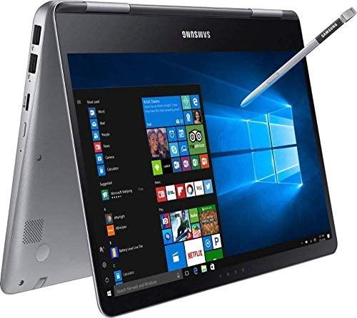 "Premium 2019 Samsung Notebook 9 Pro Business 15.6"" FHD 2-in-1 Touchscreen Laptop/Tablet Intel Quad-Core i7-8550U, 16GB DDR4, 512GB SSD, 2G Radeon 540 Backlit KB USB-C 4K Out S Pen Win 10 (Renewed) 1"