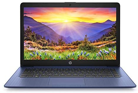 HP Stream Laptop Intel N4000 4GB 64GB eMMC 14-Inch WLED Win 10 S with Office 365 1-Year 1