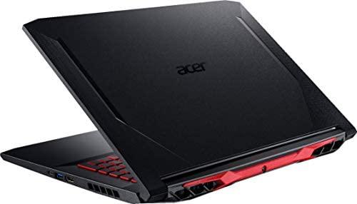 "Acer Nitro 5 17.3"" FHD Gaming Laptop Intel Core i5-10300H, NVIDIA GeForce GTX 1650 Ti,8GB DDR4 RAM, 512GB PCIE SSD, 1TB HDD, Backlit Keyboard, Woov Laptop Bag, Windows 10 Home Obsidian Black 5"