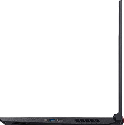 "Acer Nitro 5 17.3"" FHD Gaming Laptop Intel Core i5-10300H, NVIDIA GeForce GTX 1650 Ti,8GB DDR4 RAM, 512GB PCIE SSD, 1TB HDD, Backlit Keyboard, Woov Laptop Bag, Windows 10 Home Obsidian Black 7"