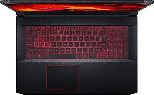 "Acer Nitro 5 17.3"" FHD Gaming Laptop Intel Core i5-10300H, NVIDIA GeForce GTX 1650 Ti,8GB DDR4 RAM, 512GB PCIE SSD, 1TB HDD, Backlit Keyboard, Woov Laptop Bag, Windows 10 Home Obsidian Black 8"