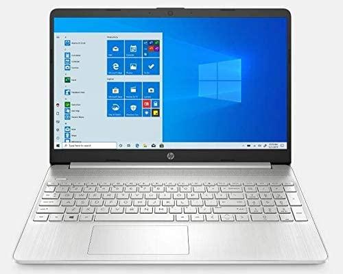"2021 Newest HP 15.6"" FHD IPS Touchscreen Laptop PC Intel i7-1065G7 Quad-Core Processor 16GB DDR4 RAM 1TB NVMe SSD Intel Iris Plus Graphics Webcam HDMI Silver Windows 10 Pro w/32GB RE USB 3.0 Drive 1"