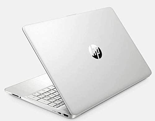 "2021 Newest HP 15.6"" FHD IPS Touchscreen Laptop PC Intel i7-1065G7 Quad-Core Processor 16GB DDR4 RAM 1TB NVMe SSD Intel Iris Plus Graphics Webcam HDMI Silver Windows 10 Pro w/32GB RE USB 3.0 Drive 3"