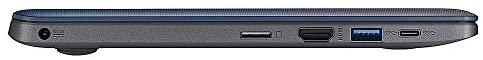 ASUS VivoBook L203NA-DS04, Intel Celeron N3350, 4GB DDR4 RAM, 64GB eMMC Flash Storage, Windows 10 Home in S Mode 6