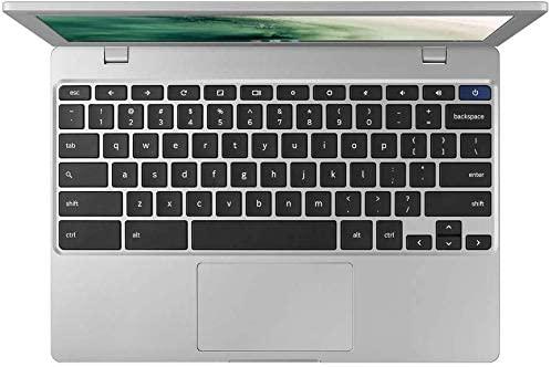 "Samsung Chromebook 4 11.6"" HD Laptop, Intel Celeron Processor N4000, 4GB RAM 32GB eMMC, Gigabit Wi-Fi,Bluetooth, Chrome OS, Platinum Titan, Bundled with TSBEAU 4-Port USB 3.0 Hub 3"