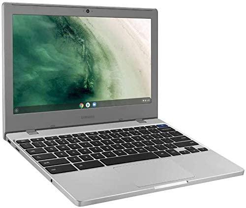"Samsung Chromebook 4 11.6"" HD Laptop, Intel Celeron Processor N4000, 4GB RAM 32GB eMMC, Gigabit Wi-Fi,Bluetooth, Chrome OS, Platinum Titan, Bundled with TSBEAU 4-Port USB 3.0 Hub 4"