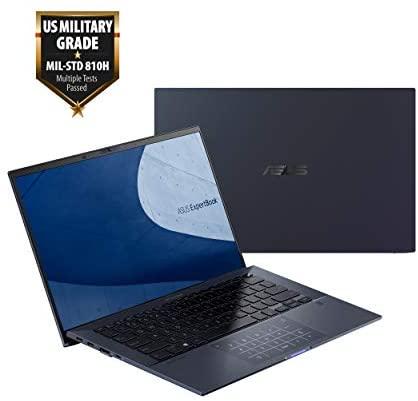 "ASUS ExpertBook B9 Intel EVO Thin & Light Laptop, 14"" FHD, Intel Core i7-1165G7, 1TB SSD, 16GB RAM, Military Grade Durable, Up to 20hr Battery, Webcam Privacy Shield, Win 10 Pro, Black, B9450CEA-XH75 2"