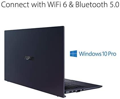 "ASUS ExpertBook B9 Intel EVO Thin & Light Laptop, 14"" FHD, Intel Core i7-1165G7, 1TB SSD, 16GB RAM, Military Grade Durable, Up to 20hr Battery, Webcam Privacy Shield, Win 10 Pro, Black, B9450CEA-XH75 3"