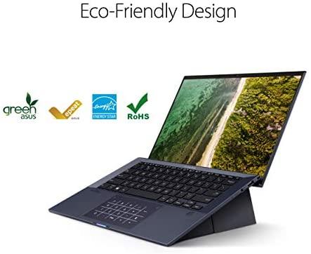 "ASUS ExpertBook B9 Intel EVO Thin & Light Laptop, 14"" FHD, Intel Core i7-1165G7, 1TB SSD, 16GB RAM, Military Grade Durable, Up to 20hr Battery, Webcam Privacy Shield, Win 10 Pro, Black, B9450CEA-XH75 8"