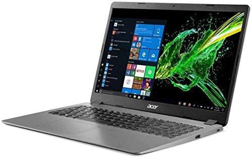 """Newest Acer Aspire 3 15.6"""" FHD 1080P Laptop Computer, 10th Gen Intel Quad-Core i5 1035G1 (Beats i7-7500u), 12GB DDR4 RAM, 256GB SSD+500GB HDD, Webcam, HDMI, WiFi, Bluetooth, Windows 10, AllyFlex MP 4"""