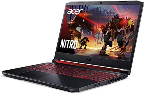 """2021 New Acer Nitro 5 Gaming Laptop computer, Intel 6-Core i7-9750H As much as 4.5 GHz, 15.6"""" Full HD IPS 144Hz Show, NVIDIA GeForce RTX 2060, 32GB DDR4, 1TB NVMe SSD, Backlit Keyboard, Win 10 + Oydisen Fabric 3"""