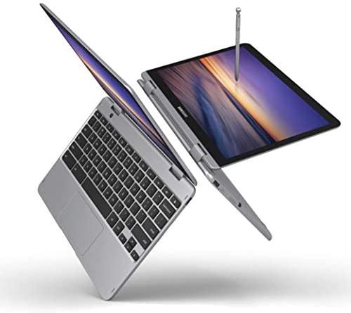 "Samsung Chromebook Plus V2, 2-in-1, 4GB RAM, 32GB eMMC, 13MP Digicam, Chrome OS, 12.2"", 16:10 Facet Ratio, Gentle Titan (XE520QAB-K01US) (Renewed) 2"