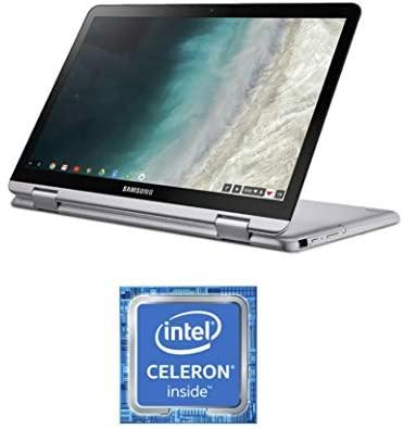 "Samsung Chromebook Plus V2, 2-in-1, 4GB RAM, 32GB eMMC, 13MP Digicam, Chrome OS, 12.2"", 16:10 Facet Ratio, Gentle Titan (XE520QAB-K01US) (Renewed) 6"