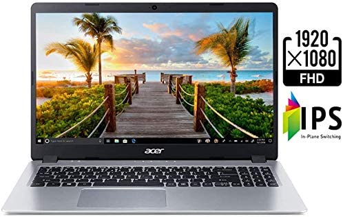 "2021 Latest Acer Aspire 5 15.6"" FHD Laptop computer Laptop AMD Ryzen 3 Twin Core 3200U Processor 8GB RAM 128GB NVMe SSD + 1TB HDD Backlit Keyboard WiFi Bluetooth HDMI Home windows 10 w/RE USB3.0 Flash Drive 7"
