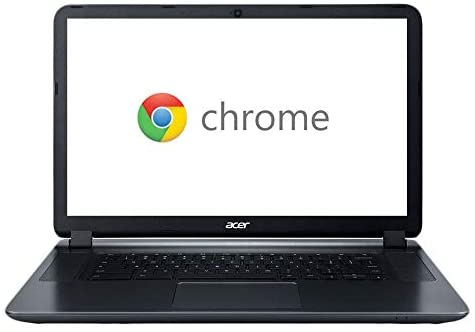 """2018 Acer CB3-532 15.6"""" HD Chromebook with 3x Faster WiFi, Intel Dual-Core Celeron N3060 up to 2.48GHz, 2GB RAM, 16GB SSD, HDMI, USB 3.0, Webcam, 12-Hours Battery, Chrome OS 1"""