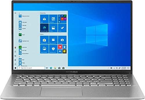 "2020 ASUS VivoBook 15 15.6"" FHD Laptop computer Pc, AMD Ryzen 5-3500U Processor, 12GB RAM, 512GB PCIe SSD, AMD Radeon Vega 8 Graphics, Webcam, HDMI, USB-C, Home windows 10, Silver, 32GB Snow Bell USB Card 1"