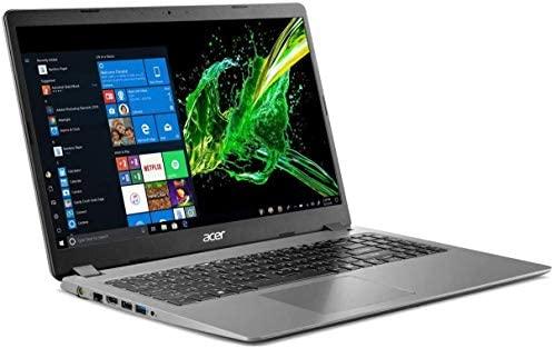 "2020 Acer Aspire 3 15.6"" Full HD 1080P Laptop PC, Intel Core i5-1035G1 Quad-Core Processor, 8GB DDR4 RAM, 256GB SSD, Ethernet, HDMI, Wi-Fi, Webcam, Numeric Keypad, Windows 10 Home, Steel Gray 1"