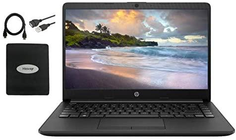 2020 HP 14 inch HD Laptop Newest for Business and Student, AMD Athlon Silver 3050U (Beat i5-7200U), 16GB DDR4 RAM, 512GB SSD, 802.11ac, WiFi, Bluetooth, HDMI, Windows 10 w/HESVAP 3in1 Accessories 1