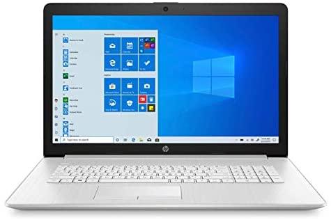 "2020 New HP 17-by3063st 17.3"" HD+ Display Notebook, Intel i3-1005G1, 8GB Memory, 128GB SSD + 1TB Hard Drive, Windows 10, Silver 1"