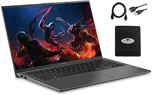 "2020 Newest ASUS VivoBook 15.6"" FHD Laptop Computer, AMD Ryzen 7 3700U(Beat i5-8250U) 20GB RAM 1TB SSD Radeon RX Vega HDMI WiFi Bluetooth USB-C Windows 10 w/Ghost Manta Accessories 1"