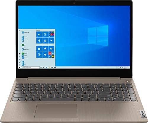 "2020 Newest Lenovo IdeaPad 3 15"" HD Touch Screen Laptop, Intel 10th Gen Dual-Core i3-1005G1 CPU, 8GB DDR4 RAM, 256GB PCI-e SSD, Webcam, WiFi 5, Bluetooth, Windows 10 S - Almond 1"