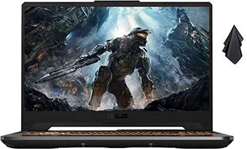 """2021 ASUS TUF 15.6"""" FHD Premium Gaming Laptop, 10th Gen Intel Quad-Core i5-10300H, 16GB RAM, 1TB SSD, GeForce GTX 1650Ti 4GB GDDR6, RGB Backlit Keyboard, Win10 Home+Oydisen Cloth 1"""