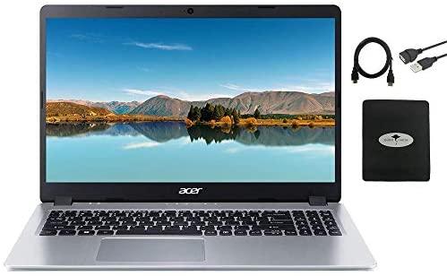 2021 Acer Aspire 5 Slim Laptop 15.6 FHD IPS Display, AMD Ryzen 3 3200u (up to 3.5GHz), Vega 3 Graphics, 8GB RAM, 512GB PCIe SSD Backlit KB,WiFi,HDMI, Win 10 w/GM Accessories 1