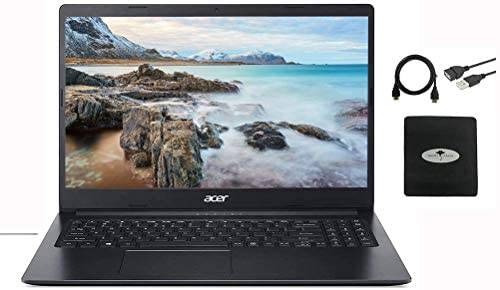 """2021 Acer Aspire Chromebook 15.6"""" FHD IPS Laptop Business and Student, Intel Celeron N4020(up to 2.8GHz), 4GB RAM, 64GB eMMC, USB-C, Up to 10 Hours, Google Classroom, Win10 +GM Accessories 1"""