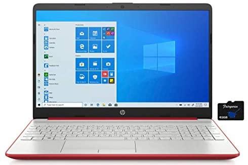 "2021 HP 15.6"" HD LED Show Laptop computer Pc, Intel Pentium Gold 6405U, 4GB RAM, 128GB SSD, HDMI,USB-C, Ethernet RJ-45, HD Webcam, Home windows 10 S, Purple, Fairywren Card 1"